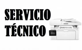 Servicio técnico impresora hp lj m130fw imp/cop/sca/fax/ep/wifi/2
