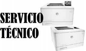 Servicio técnico impresora hp láser m452dw pro 400 color e insumos
