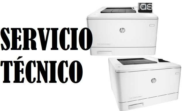 Servicio técnico impresora hp láser m452dw pro 400 color e insumos - 0