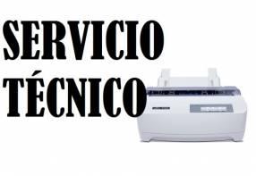 Servicio técnico impresora tally 1125 (220v) e insumos