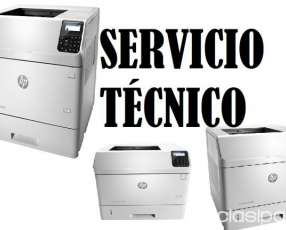 Servicio técnico impresora hp láser m605dn enterprise e insumos