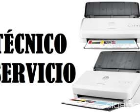 Servicio técnico de escáner