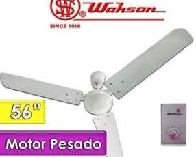 Ventilador de techo wahson motor pesado