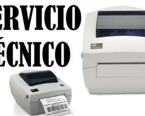 Servicio técnico impresora zebra gc420d usb paralelo serial e insumos
