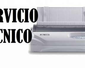 Servicio técnico impresora tally 1225 (22v) e insumos