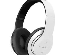 Fone+mic klip khs-628wh headph bt/blanco