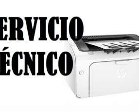 Servicio técnico impresora hp lj m12w ep/wif/220v e insumos