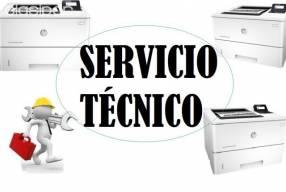 Servicio técnico impresora hp láser m506dn enterprise e insumos