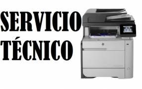Servicio técnico impresora hp láser m477fdw mfp pro color multifunción e insumos