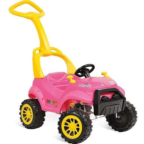 Smart paseo a pedal rosa