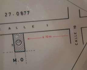 Terreno 420 m2 en Ypané