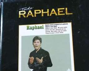 Colección de disco con autografía de Raphael