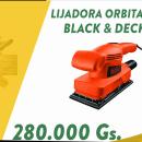 Lijadora orbital Black & Decker - 0