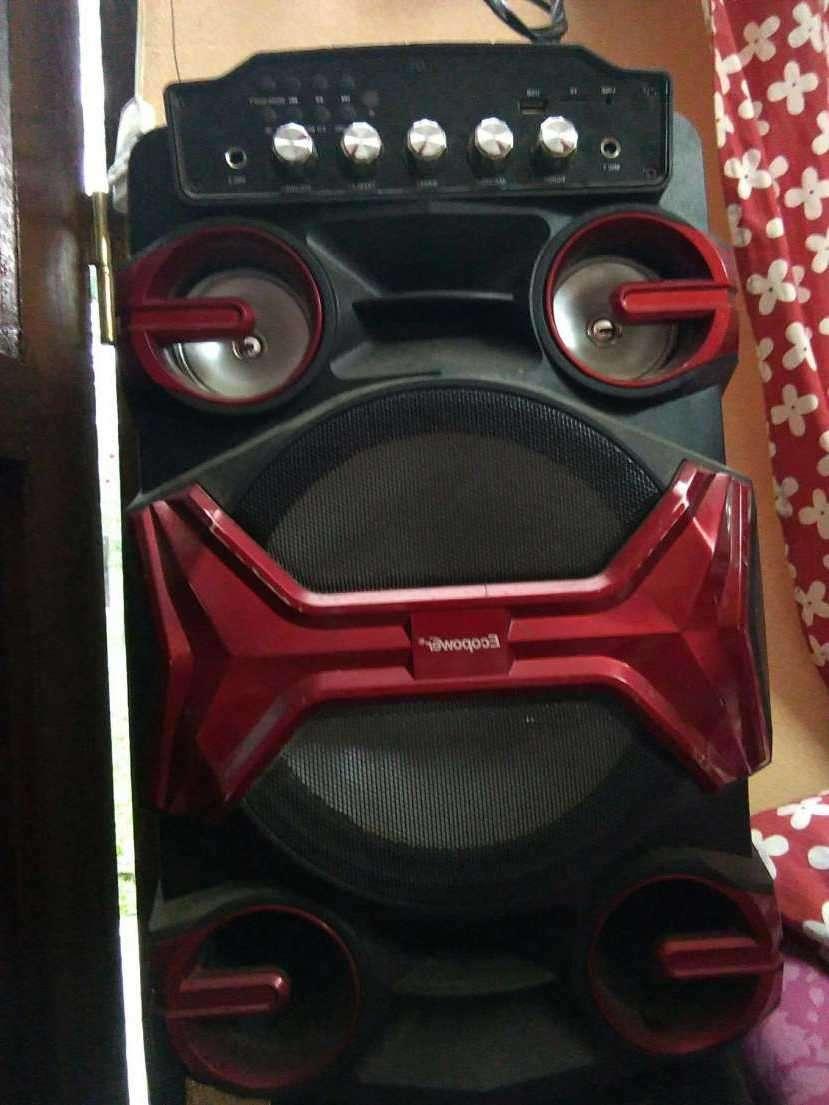 Karaoke ecopower portátil