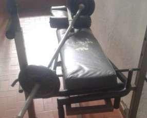 Equipo de pesas Muscle