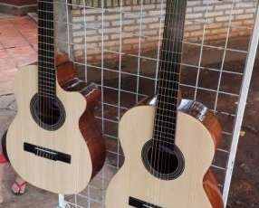 Guitarra criolla artesanal