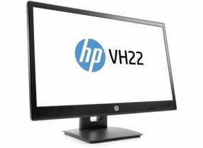 Monitor HP VH22 FHD VGA/DVI/BIVOLT/V9E67AA Corporativo 90 G