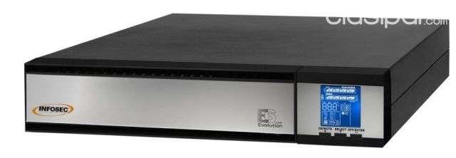 UPS Infosec 220V E6 LCD RT 3000 HV VA - 0