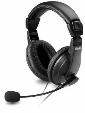 Fone+mic KLIP KSH-301 headph c/cont vol