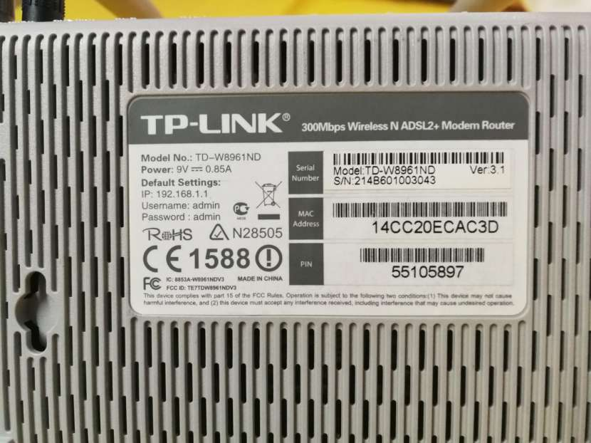 Router TP Link 2 antenas