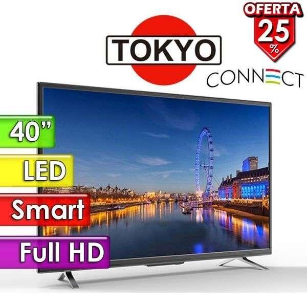 Tv Tokyo smart 40 pulgadas - 0
