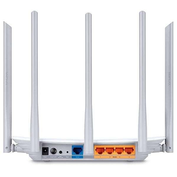 Router inalámbrico TP-Link Archer C60 AC1350 con 5 Antenas - 1