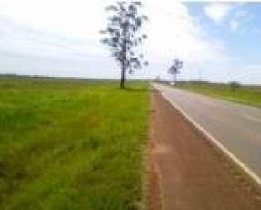 Terreno de 60 hectáreas sobre ruta 1 en Coronel Bogado Itapúa