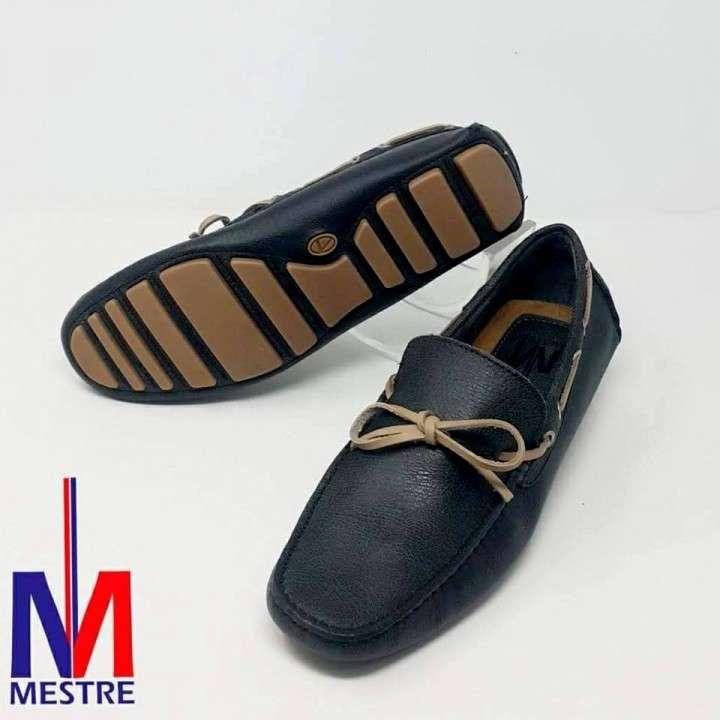 Zapatos 100% Cuero para Caballeros con Cordón