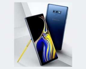 Samsung Galaxy Note 9 nuevo y protectores
