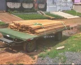 Carrito de 2m x 4m para 2 toneladas