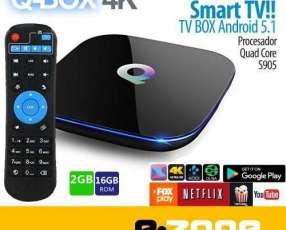 Convertidor Smart tv Q-BOX 4K