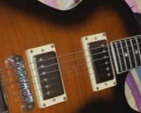 Guitarra eléctrica Ibanez estilo Les Paul