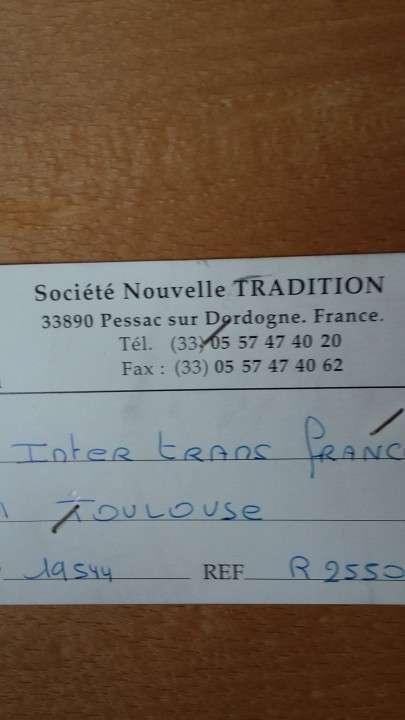Mesa comedor francesa - 5