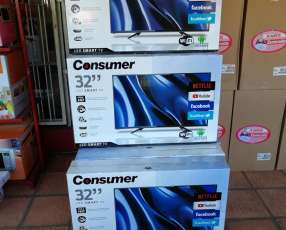 TV Led Smart Consumer 32 pulgadas