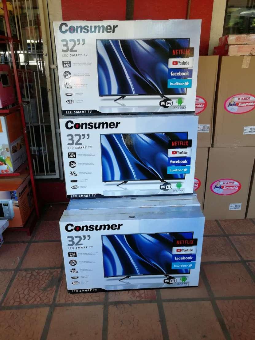 TV Led Smart Consumer 32 pulgadas - 0