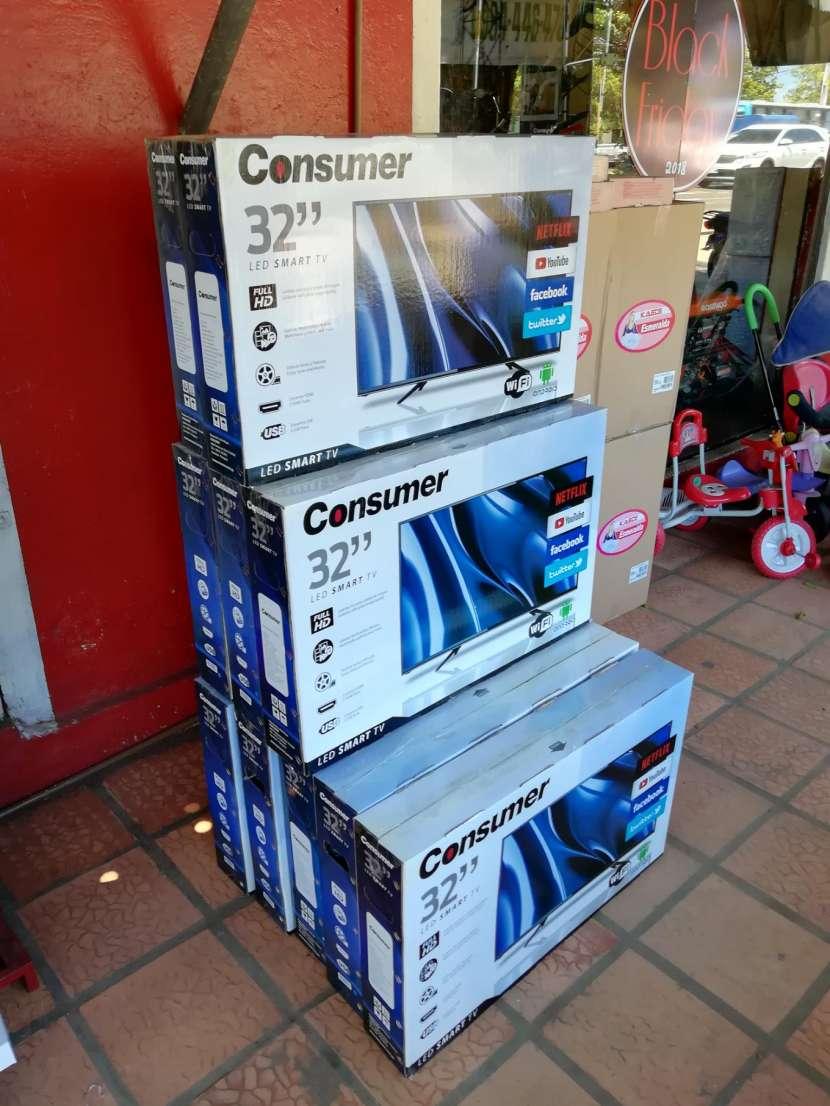 TV Led Smart Consumer 32 pulgadas - 1