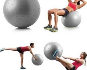 Pelota para gym con arenilla e inflador