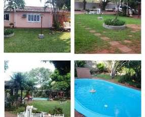 Casa quinta de 4 terrenos en Luque zona Isla Bogado