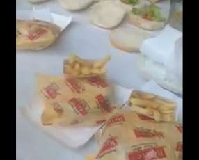 Rapi Burguer hamburguesas para eventos en cantidad