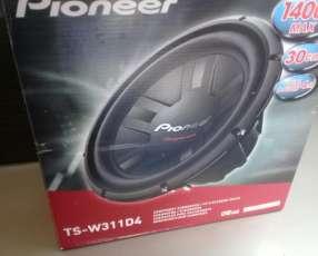 Woofer Pioneer 1400 watts nuevo en caja