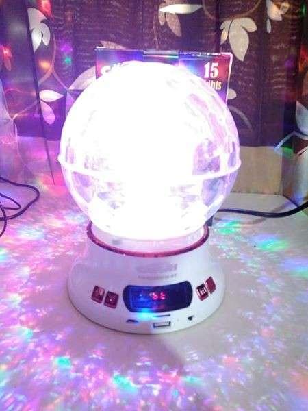 Luces disco musical a control esfera completa