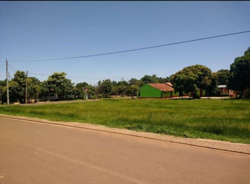 Terreno 800 m2 sobre asfalto en Carmen del Paraná Itapúa - 3