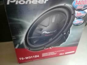 Woofer Pioneer 1400 watts
