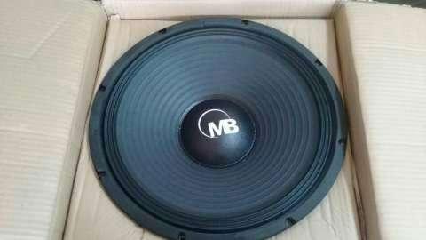 Parlante 15 pulgadas Mega Bass 1200 watts - 0