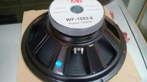 Parlante 15 pulgadas Mega Bass 1200 watts - 1