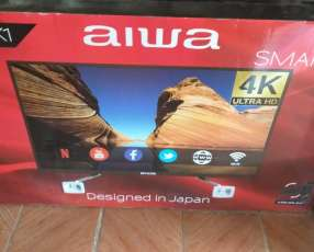TV LED Smart Aiwa full UHD 4k de 55 pulgadas