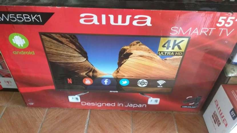TV LED Smart Aiwa full UHD 4k de 55 pulgadas