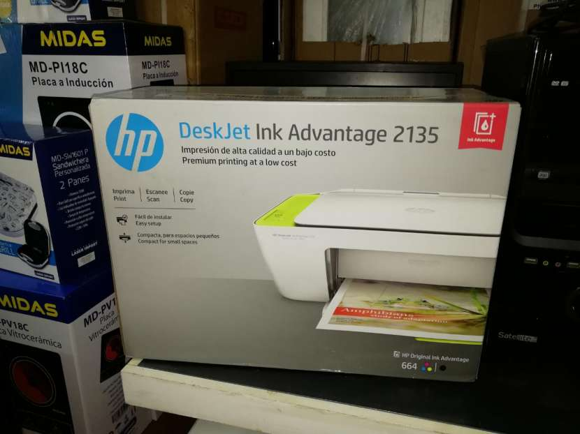 Impresora multifunción HP advantage 2135 - 0