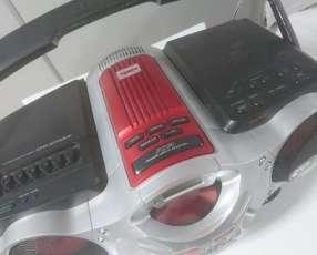 Radio grabador Sony