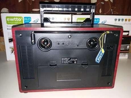 Radio tipo Victrola Retro Ewtto - 3
